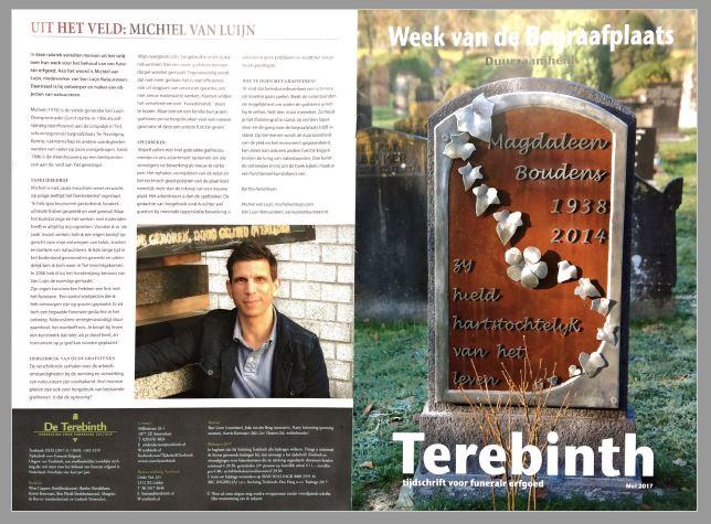 Terebinth cover en rubriek afbeelding